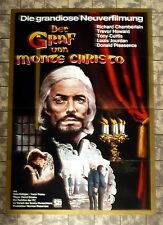 GRAF VON MONTE CHRISTO * Chamberlain, Curtis - A1-FILMPOSTER - Ger 1-Sheet 19
