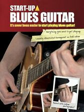 Start-Up Blues Guitar Learn to Play Beginner Easy Lesson Tutor Music Book