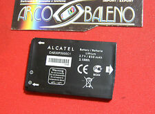 BATTERIA 750Mah ORIGINALE PER ALCATEL ONE TOUCH OT 505 600A 708 363 CAB3010010C1