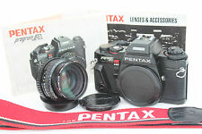 Pentax Program A 35mm SLR Film Camera with SMC Pentax-A 1:1.7 Prime 50mm lens