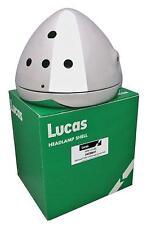 """LUCAS 7"""" CHROME HEADLAMP SHELL & RIM 60279 1971-74 NORTON COMMANDO 750-850"""
