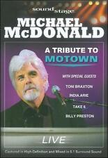 Soundstage: Michael McDonald - A Tribute to Motown Live, Excellent DVD, Billy Pr