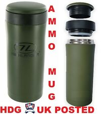 HIGHLANDER ARMY THERMAL MUG THERMOS FLASK -fits AMMO POUCH SF TA SAS CADET HIKE