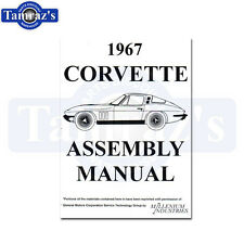 1967 Corvette Factory Assembly Manual Loose Leaf UnBound 406 Pages