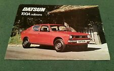 DATSUN 100A CHERRY SALOON 2 4 DOOR February 1976 UK FOLDER BROCHURE
