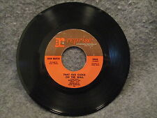 "45 RPM 7"" Record Dean Martin Somewhere Theres A Someone & That Old Clock 0443"