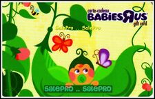 TOYSRUS 2010 CANADA BUTTERFLY PEAS BABY JUMGLE LIFE FR/ENG COLLECTIBLE GIFT CARD