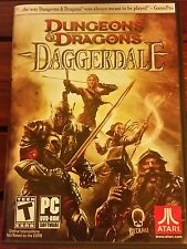 Dungeons & Dragons: DAGGERDALE (PC DVD-ROM, 2011) *COMPLETE* SHIPS FREE Mon-Sat!