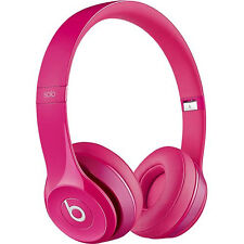 Beats by Dr. Dre Solo2 WIRED GENUINE NEW SEALED Headphones - Pink