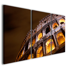 Quadro moderno Colosseo vol I stampa su tela canvas intelaiato ® quality