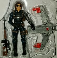 "Marvel Universe WINTER SOLDIER 3.75"" Figure with Jet Pack Bucky #04 Comic Series"