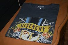 Bleached Goods Guns N Tisci Givenchy inspired Band Rock tee size L