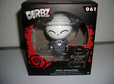 "1 UP BOX DORBZ NIGHTMARE BEFORE CHRISTMAS JACK #061 3"" VINYL TOY FIGURE"