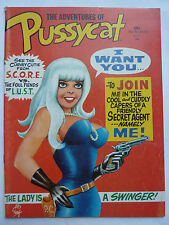Adventures of PUSSYCAT #1 Marvel  RARE  BILL WARD Good Girl Art -Nylon Stockings