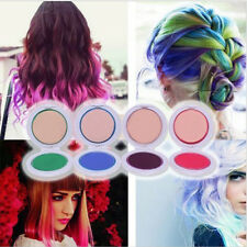 DIY 4Colors Temporary Hair Chalk Pie Hair Styling Easy To Dye And Wash Salon Kit