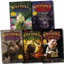 Tony DiTerlizzi & Holly Black Spiderwick Chronicle Collection 5 Books Set In UK