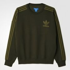 Adidas Originals Trefoil ADC Sweater UK Size Large Brand New With Tags Green ..