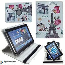 Love Paris Tablet Tasche für 9,6 Zoll TrekStor SurfTab breeze 9.6 Schutz Hülle