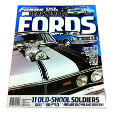 POWER AND SPEED COLLECTION STREET FORDS SUPERCHARGED FORDS GT HO XY XW 351
