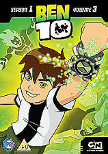 Ben 10 - Vol.3 - Side Effects (DVD, 2009) - Good Condition
