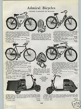 1940 PAPER AD Ranger Moto Scoot Scoots Motor Scooter Standar Solo
