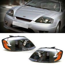 OEM Genuine Head Light Lamp Black Bezel 2p for HYUNDAI 2001-2006 Tiburon Coupe