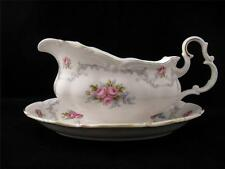 Royal Albert TRANQUILLITY Tranquility Gravy Sauce Boat & Underplate *ENGLAND*