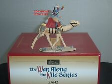 BRITAINS 27042 BRITISH CAMEL CORPS BUGLER MOUNTED METAL TOY SOLDIER FIGURE SET
