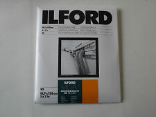 ILFORD MGIV RC DELUXE 5X7 SATIN 25 DARKROOM PAPER