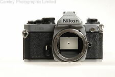 Nikon FM2n 35mm SLR Camera Body in Chrome. Condition – 6E [5583]