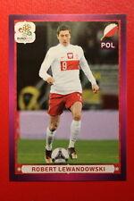 Panini EURO 2012 N. 77 POLSKA LEWANDOWSKI  NEW With BLACK BACK TOPMINT!!