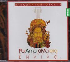 Marco Antonio Solis Por Amor A Morelia Michoacan En Vivo CD New Nuevo Sealed