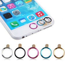 5pcs Aluminium Metal Touch ID Home Button Sticker Decals for iPhone