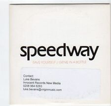 (EZ47) Speedway, Save Yourself - 2003 DJ CD