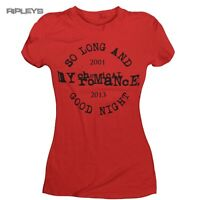 Official Skinny T Shirt My Chemical Romance   So Long and Goodnight All Sizes