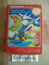 ELDORADODUJEU     SHARP SHOT TIREUR D'ELITE Pour MATTEL INTELLIVISION COMPLET