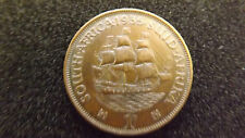 SOUTH AFRICA PENNY 1935  HIGH GRADE