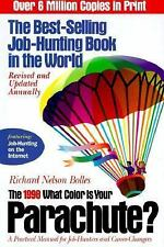 What Color Is Your Parachute? 1998: A Practical Manual for Job-Hunters-ExLibrary