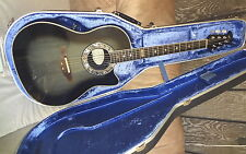 rare USA OVATION 1983-B COLLECTOR'S SERIES Cutaway Acoustic Electric Guitar