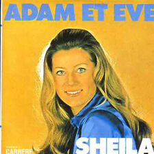CD Single SHEILA Adam et Eve 2-TRACK CARD SLEEVE