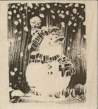 """""""Snowy Snowman!"""" Rubber Stamp by Penny Black"""
