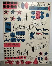 A Coloring Book Drawings By Andy Warhol Envelope Flyer