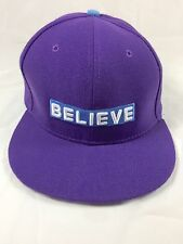 """JUSTIN BIEBER HAT / CAP """"Swaggy"""" and BELIEVE SNAPBACK"""