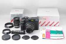 =MINT- in Box= Mamiya 7II Body + N L 65mm, 80mm f/4 Lens + Etc. from Japan #p01