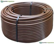 Tubo irrigazione polietilene marrone diametro 16 PN6 rotolo metri 50 qualità top