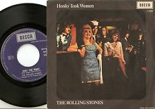 THE ROLLING STONES HONKY TONK WOMEN & ALWAYS GET WHAT YOU WANT ITALY PS+45 1969
