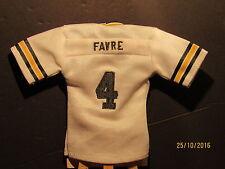 2005 UD Mini Jersey Collection Replica Jerseys White #BF Brett Favre