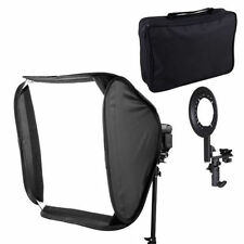 "50 x 50cm 20"" Soft Box Softbox For 430EX 580EX SB900 YN-560 III flash speedlite"