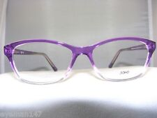 NEW SOHO 124 PURPLE GRADUAL EYEGLASS FRAME