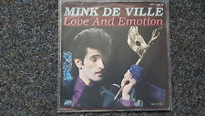 Mink De Ville - Love an emotion 7'' Single